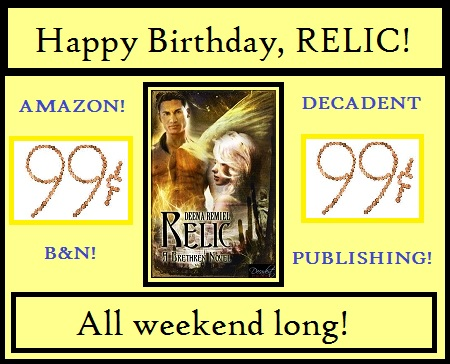 HAPPY BIRTHDAY, RELIC! TWO YEARS YOUNG!